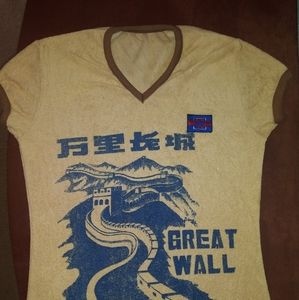 Vintage Great Wall of China shirt